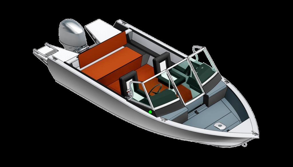 Лодка Realcraft Impulse 470